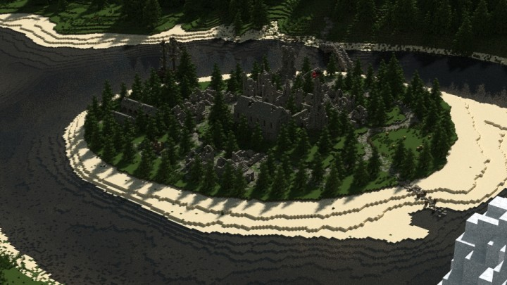 [Map] !#2#! of RiverFall - Руины замка