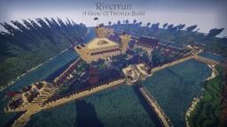 Siege of Riverrun (Large GoT Build) Minecraft
