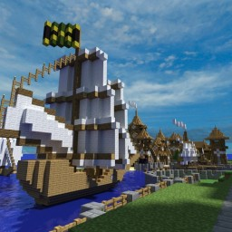 Medieval Ship #2 Minecraft Map & Project