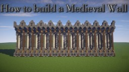 Minecraft Medieval Wall Minecraft Blog