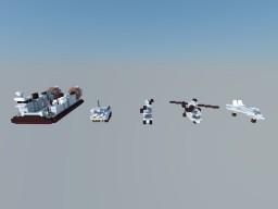 Amphibious Assault Ship vehicle pack Minecraft Map & Project