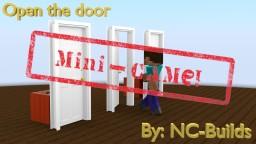 Open the door (Mini-Game) Minecraft Map & Project