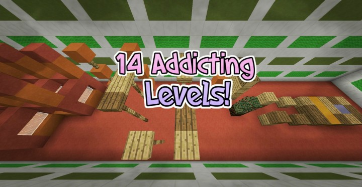 14addictinglevels8933877 [1.8] Don't Stop Jumping Parkour Map Download