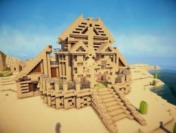 Sandy Temple. Minecraft