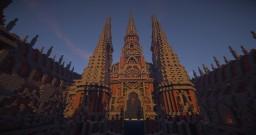 Crimson Monastery Minecraft