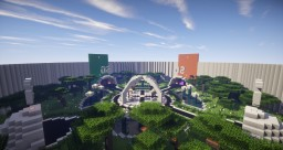 Modern 4 Portal Spawn Minecraft