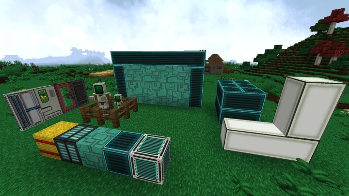 Zombie villager, ocean-themed blocks and CTM fixes
