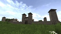 Medieval Town (WIP) Minecraft Map & Project