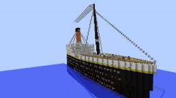 rms Titanic 1912 Minecraft