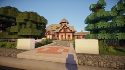 Jordan Belforts Mansion From Wolf Of Wall Street Minecraft Map & Project