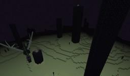 Harder Ender Dragon Boss Battle! Minecraft Map & Project