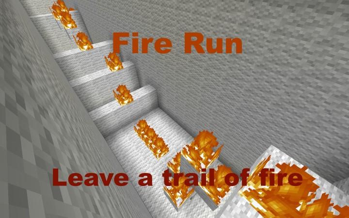 Fire Run Minecraft Project
