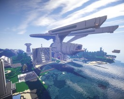 Enterprise Refit And Star base! Minecraft Map & Project