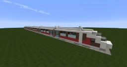 (Flows HD) High-speed train by TwIsTeD_uP454 Minecraft Map & Project