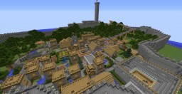 City of Borgo Mattiotti Minecraft Map & Project
