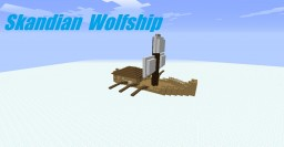 Skandian Wolfship: The Rangers Apprentice Minecraft Map & Project