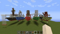 Andrea Gail,Hannah Boden,Lady Grace and family :D Minecraft Map & Project