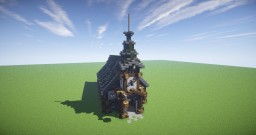 Church :: Fantasy Series :: 004 Minecraft Map & Project