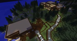 Complexion, a modern large mansion Minecraft Map & Project
