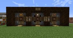 Pre set Flat Building World Minecraft Map & Project