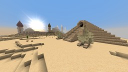 Desert temple (underground!) Minecraft Map & Project