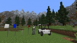 Hole in One MC 3D Golf Pack Minecraft
