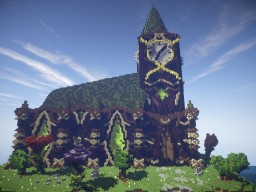 |Fantasia church| by: lucacahuette Minecraft Map & Project