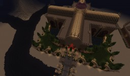 The Temple of the Old Desert gods Minecraft Map & Project