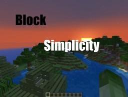 Block Simplicity [1.8.1] Minecraft Texture Pack