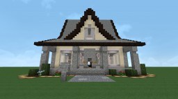 Simple Dutch Colonial House Minecraft Map & Project