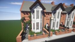 Small British Georgian House Minecraft