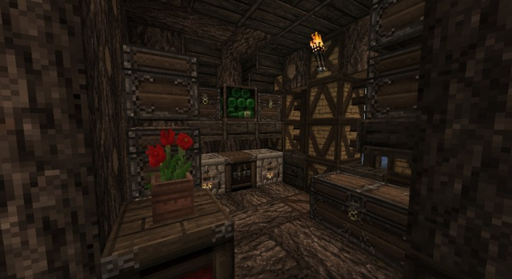 The old oak survival tree house minecraft project for Classic house follow me