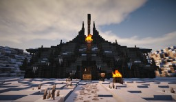 Orc Warchief Hut Minecraft Project