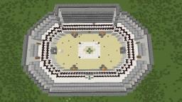 Super Hero Arena Minecraft Project