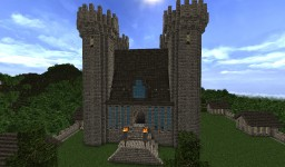 Castle and small city Minecraft Map & Project