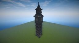 Elizabeth Tower (Schematic In World Save Folder) Minecraft Map & Project