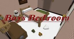 Boys Bedroom Minecraft Map & Project
