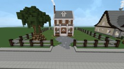 Geogrian House Minecraft Map & Project