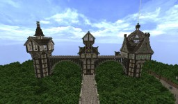 Three towers Minecraft Map & Project
