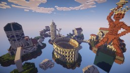 Floating Greek City Minecraft Map & Project