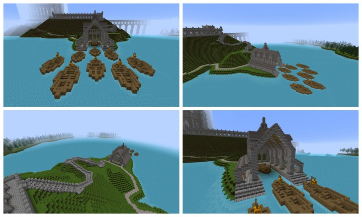 Hogwarts Castle Minecraft Project