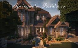 Springwater Residence, 4 Bed/2.5 Bath -=WoK Build=- Minecraft Map & Project