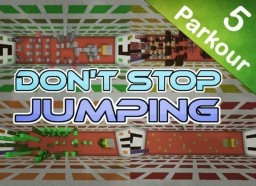 Don't Stop Jumping - Parkour Map [1.8+] Minecraft