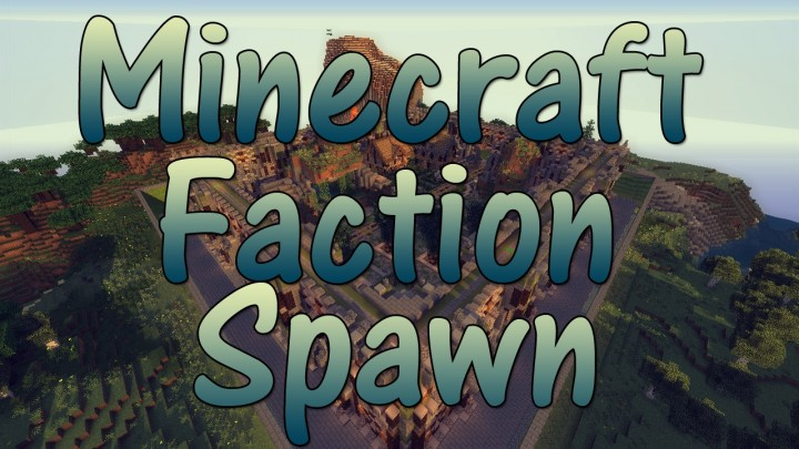 Minecraft - Faction Spawn + Shop [1.7 - 1.12]