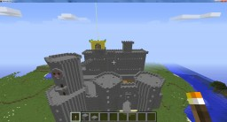 First Castle Minecraft Map & Project
