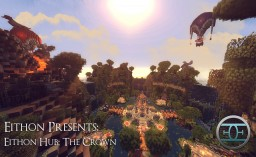 Eithon Hub; The Crown! Organic server spawn. Minecraft Map & Project