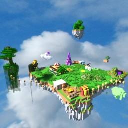 Fun island Minecraft Map & Project