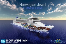 Norwegian Jewel 1:1 Scale Cruise Ship [+Download] Minecraft Map & Project