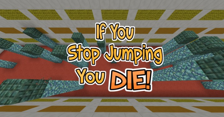 ifyoustopjumpingyoudie8933870 [1.8] Don't Stop Jumping Parkour Map Download