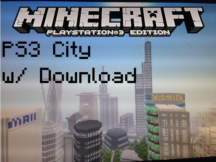 how to build a city in minecraft ps3